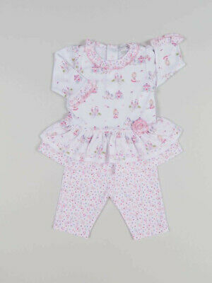 Kissy Kissy Queen of the Castle Print Dress with Leggings.6-9m New with Tags