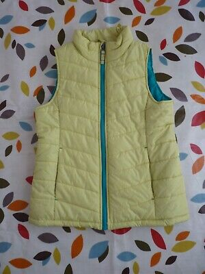 Lands End Girls Quilted Gilet, Age 7-8.
