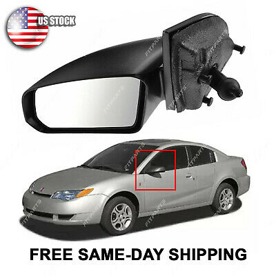 New Driver Side Mirror For Saturn Saturn Ion 2003-2007 GM1320359