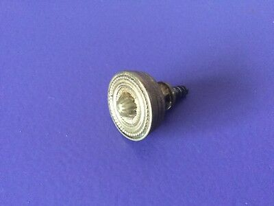 x1 Quality Vintage Brass Cupboard Drawer Cabinet Handle. Replacement Finial