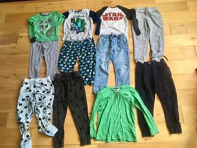 Boys 7-8 Years bundle Minecraft Pyjamas Next Jogging Bottoms H&M Jumper Jeans