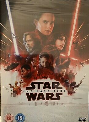Star Wars The Last Jedi New Sealed DVD