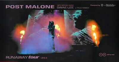 2 Tickets Post Malone 03/09/20 Toyota Center - TX Houston - AISLE SEATS!
