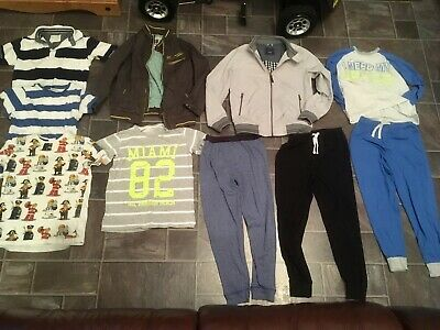 Boys 9-10 Years Bundle Next Ted Baker Jacket Coat T-shirt Pyjamas Lego Loungewea