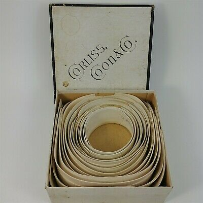 12 Corliss Coon Collars Troy New York Fashion Antique Vintage