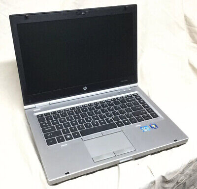"HP Elitebook 8460p 14"" i5-2540M 2.60Ghz 8GB Ram 128gb SSD Win 10 Pro 1366 x 768"