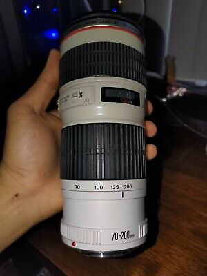 Near Mint Canon EF 70-200mm f/4 L USM Lens with hood