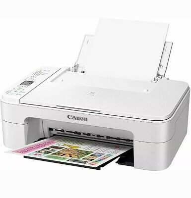 Canon PIXMA TS3122 Wireless AIO Printer Scanner Copier With Ink