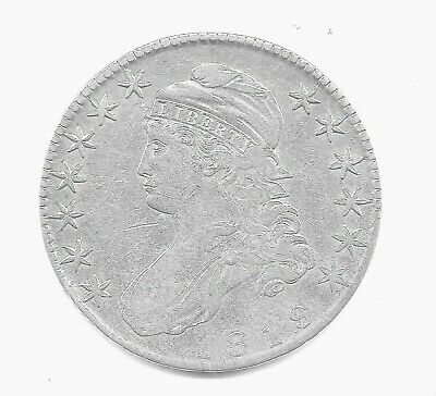 1819-P Capped Bust Half Dollar ~ Extremely Fine Grade ~ Sharp Details