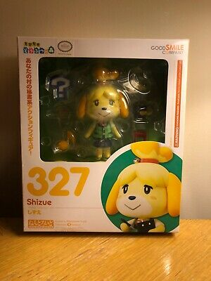 ANIMAL CROSSING New Leaf Shizue Isabelle Nendoroid Action Figure # 327