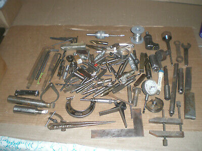 Mixed Machinist lot from tool box clean out   lot 5