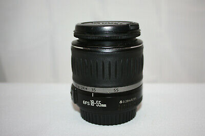 Canon Zoom Lens EF-S 18-55mm f3.5-5.6 With Caps