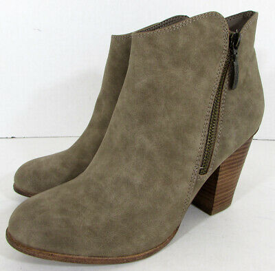 $65 Michael By Michael Shannon Womens Mallory Ankle Bootie Shoes US 8.5 Taupe