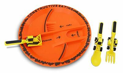 Constructive Eating Construction Complete Set Digger Tractor Plaster Painting