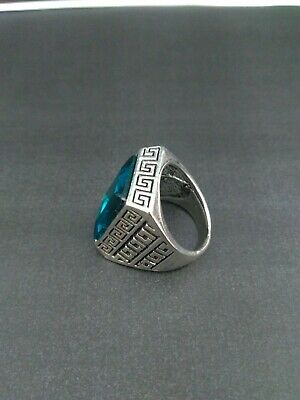 ANTIQUE HANDMADE OLD VINTAGE RARE UNIQUE Ethnic Silver Handcraft Quality RING