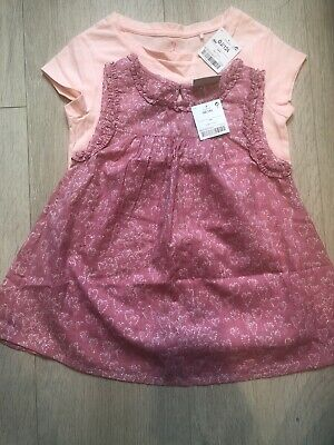 Girl Tops 2x Age 5 Brand New From Next In Pink
