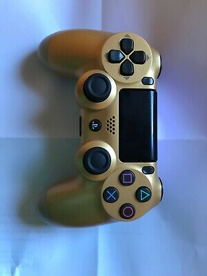 Official Sony PS4 DualShock 4 V2 CUH-ZCT2U Wireless Controller Gold
