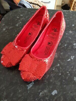 Dorothy Wizard Of Oz Shoes Size Small