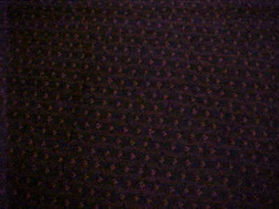 Cotton Fabric  Black and Red 6 & 7/8  Yards