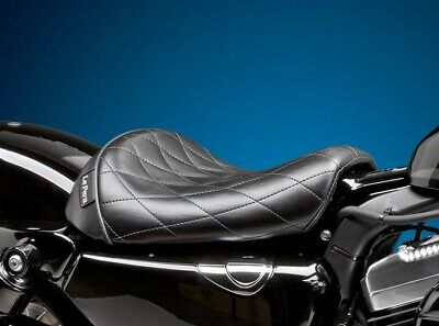 Le Pera Smooth Bare Bones Solo Seat 2010-19 Harley 48/72 Sportster XL1200X/V