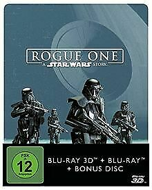 Rogue One - A Star Wars Story (2D+3D) Steelbook [Blu-ray] [L... | DVD | état bon