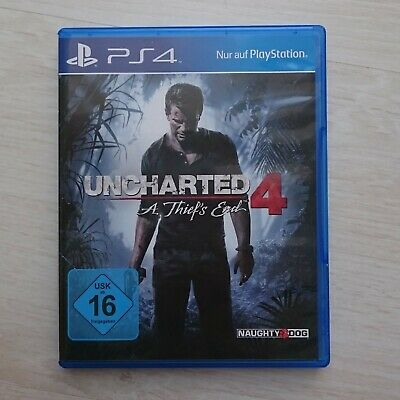Uncharted 4: A Thief's End (Sony PlayStation4, 2016) - BLITZVERSAND