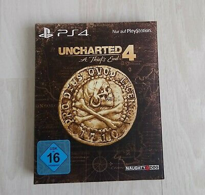 Uncharted 4 - A Thief's End (Special Edition) PlayStation 4, 2016 - BLITZVERSAND