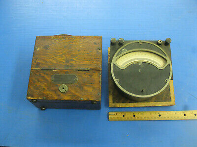 Weston Volts Dc Antique Vtg Meter