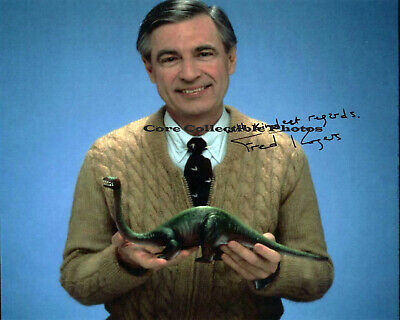 Mr. Rogers Fred Rogers Autographed Signed 8x10 Photo Reprint