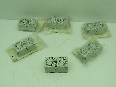 Allen Bradley 700-HN101 Relay Socket  Lot of 6