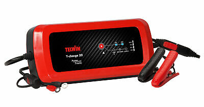 Caricabatterie Mantenitore Batterie 12/24 V Telwin T-Charger 20 Pulse Tronic