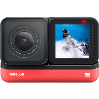Insta360 ONE R Action Camera 4K Edition - Modular Action Camera
