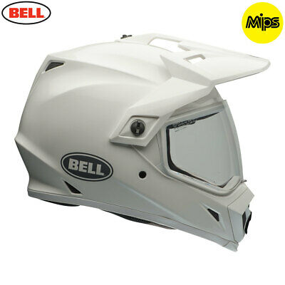 Bell MX-9 Adventure Solid Gloss White EQUIPPED WITH MIPS