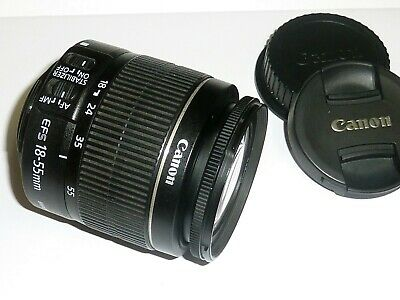 Canon EF-S 18-55mm f/3.5-5.6 IS II Lens - NEAR MINT CONDITION