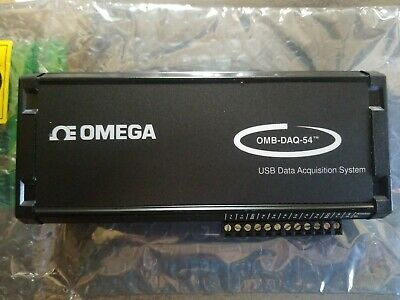 Omega Model OMB-DAQ-54 Data Acquisition for Thermocouple & Process Signals