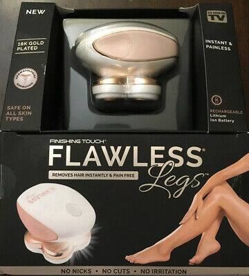 Flawless Legs Hair Remover Rechargeable Finishing Touch As Seen on TV Painless