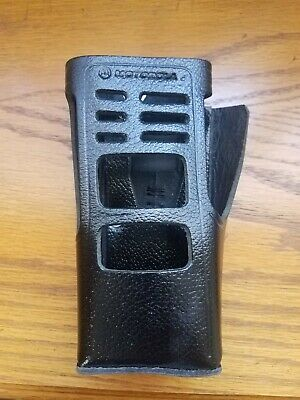NEW Motorola Two Way Radio Leather Swivel Carrying Case for HT1250 HLN9998A