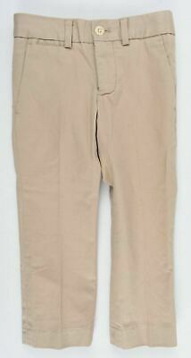 POLO RALPH LAUREN Boys' Kids' Super Slim Chino Pants, Chinos, Khaki, 2 years