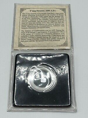 600 A.D. T'ang Dynasty Bronze Very Nice Chinese Coin w/ Packaging