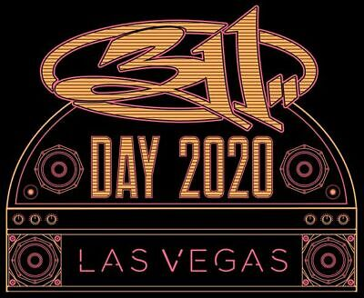 1 set of 311 Day 2020 Tickets - All 3 Nights - Las Vegas - Section 403