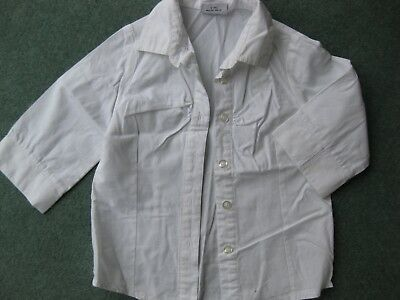 NEXT Lovely girls white 3/4 length sleeve blouse age 4 years