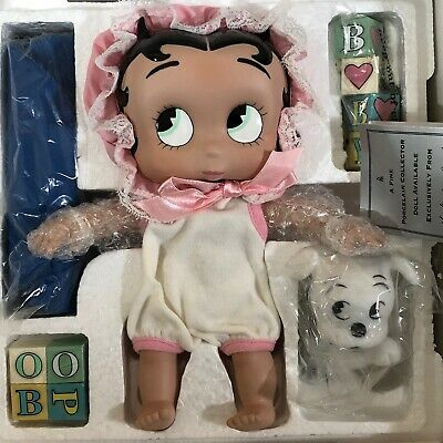 Baby Boop Porcelain Collector Doll Danbury Mint 1997 B Is For Boop