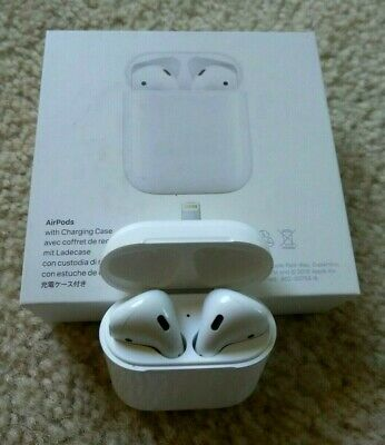 "Genuine Apple Airpods White 2nd Generation MV7N2AM/A Wired Charging Case ""SALE"""