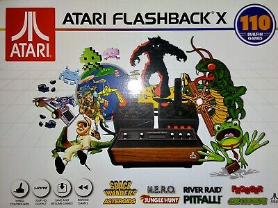 Atari Flashback X with 110 built-in games