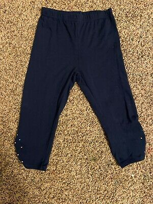 Girls Thin Capri Leggings Size 8