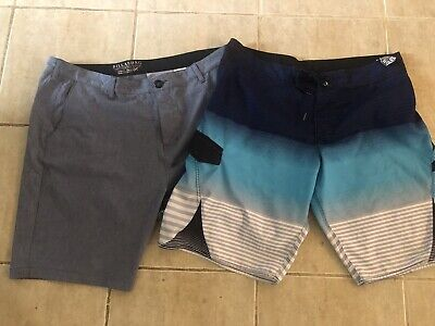 2x Pairs Men's Board Shorts Billabong Great Condition Size 38