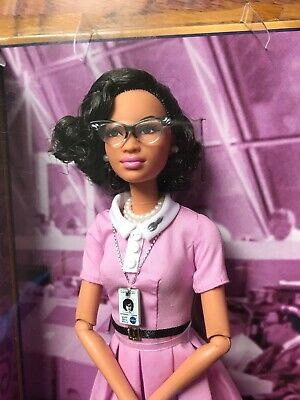 2017 Barbie Inspiring Women Series Katherine Johnson NASA  Mathematician NRFB