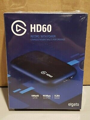 Elgato HD60 Game Capture - Streaming/Twitch - New, Sealed! H.264 Encoder