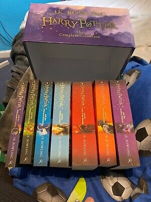 Harry Potter The Complete Collection books 1-7 boxed set Excellent Condition