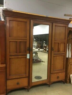 Edwardian Triple Wardrobe